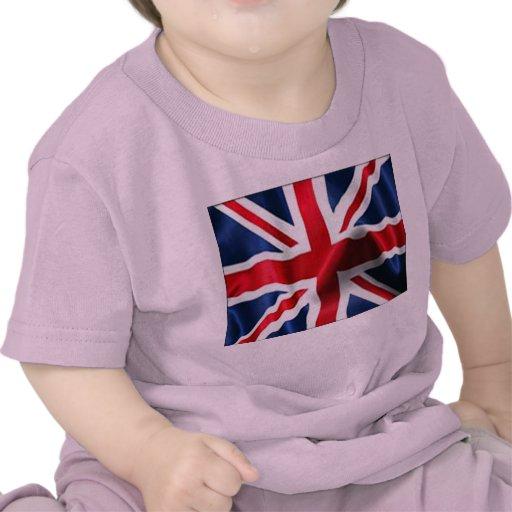 Union Jack Silky Tee Shirt