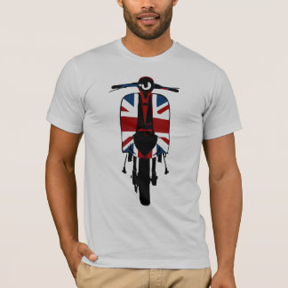 Union jack sixties scooter art T-Shirt