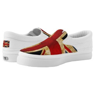 Union Jack... Slip-On Sneakers