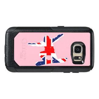 Union Jack SNOWBOARDER (wht) OtterBox Samsung Galaxy S7 Case