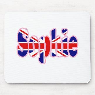 Union Jack Sophie Mouse Pad