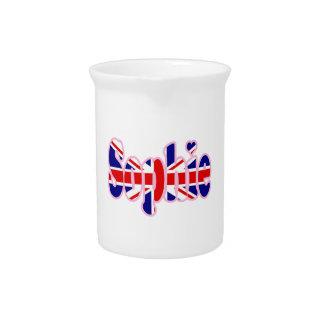Union Jack Sophie Pitchers