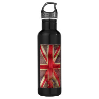 Union Jack Stainless Steel Water Bottle