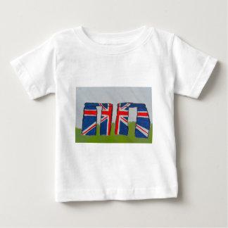 Union Jack Stonehenge Baby T-Shirt