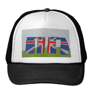 Union Jack Stonehenge Gorro