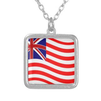Union Jack Stripies Flag Necklaces