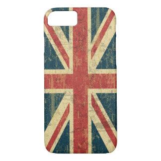 Union Jack sucio Funda iPhone 7