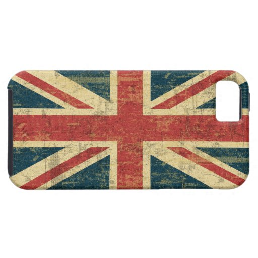 Union Jack sucio iPhone 5 Case-Mate Protector