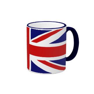 Union Jack Tazas De Café