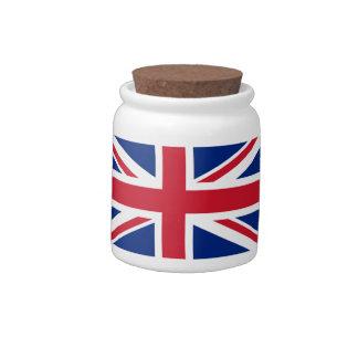 Union Jack Tea Set Candy Jar