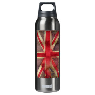Union Jack Thermos Water Bottle
