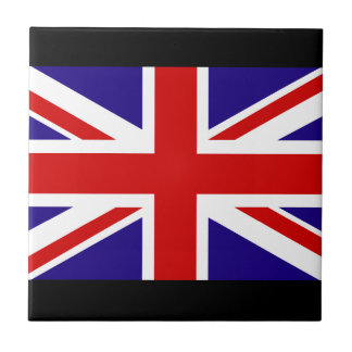 Union Jack Small Square Tile
