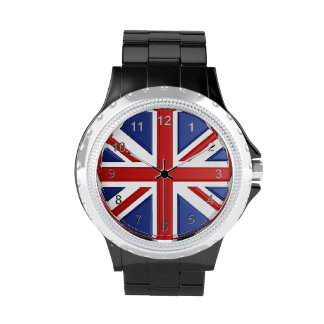 Union Jack Time Watch
