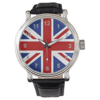 Union Jack Time Wrist Watch