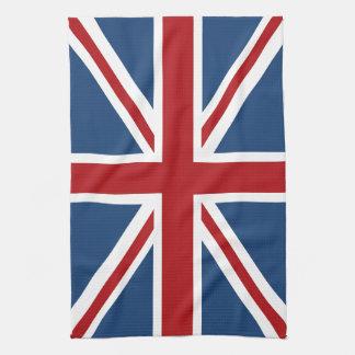 Union Jack UK British Flag Kitchen Towel