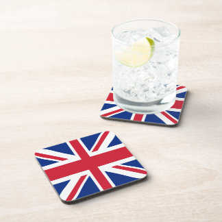 Union Jack - UK Flag Beverage Coaster