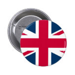Union Jack UK Flag Button