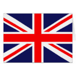 Union Jack - UK Flag Card