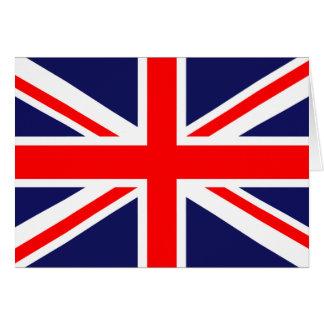 Union Jack - UK Flag Greeting Card