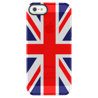Union Jack - UK Flag Uncommon Clearly™ Deflector iPhone 5 Case