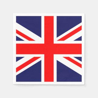 Union Jack - UK Flag Standard Cocktail Napkin