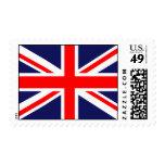 Union Jack - UK Flag Postage Stamps