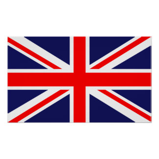Union Jack - UK Flag Poster