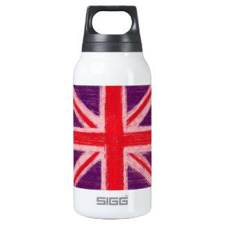 Union jack, UK flag 10 Oz Insulated SIGG Thermos Water Bottle
