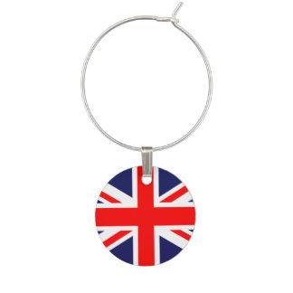 Union Jack - UK Flag Wine Glass Charm