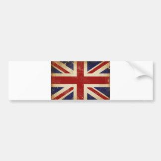 Union Jack - Union Flag - National Flag of the UK Bumper Sticker