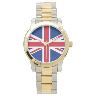 Union Jack United Kingdom British Flag Britain Wrist Watch