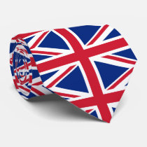 Union Jack - United Kingdom - British flag Neck Tie