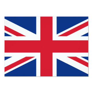 Union Jack United Kingdom Card