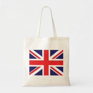 Union Jack United Kingdom Flag Tote Bags
