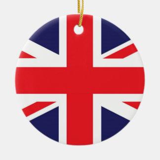 Union Jack United Kingdom Flag Ceramic Ornament