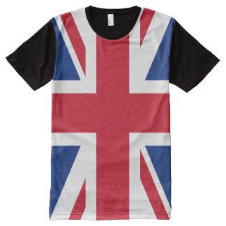 Union Jack United Kingdom Flag All-Over Print T-shirt