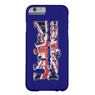 Union Jack United Kingdom Flag Patriotic Art Barely There iPhone 6 Case