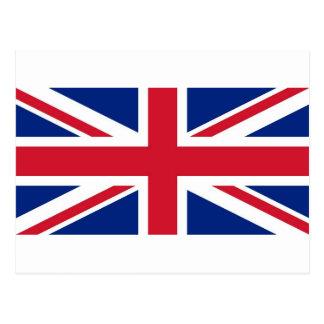Union Jack: United Kingdom flag Postcard