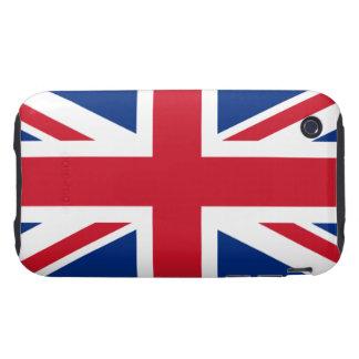 Union Jack United Kingdom iPhone 3 Tough Cover