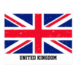 Union Jack United Kingdom Postcard