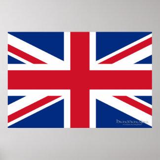 Union Jack United Kingdom Poster