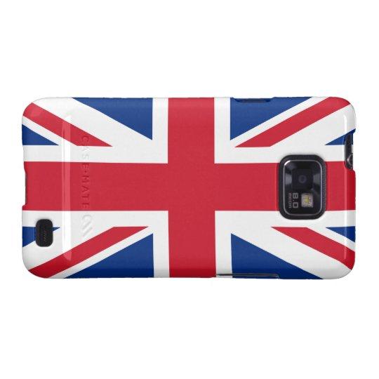 Union Jack United Kingdom Samsung Galaxy S2 Cover