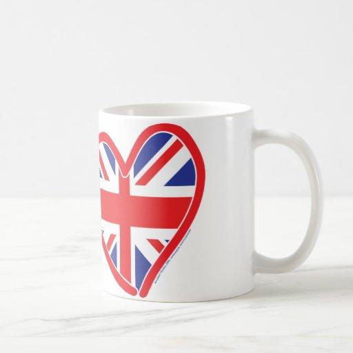 Union Jack/USA Classic White Coffee Mug