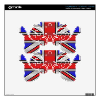 Union Jack Vector Art Skins For PS3 Controllers