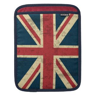 Union Jack Vintage Distressed Sleeve For iPads