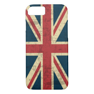 Union Jack Vintage Distressed iPhone 8/7 Case