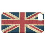Union Jack Vintage Distressed iPhone SE/5/5s Case