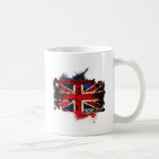 UNION JACK VINTAGE UK PASSION COFFEE MUG