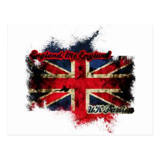 UNION JACK VINTAGE UK PASSION POSTCARD