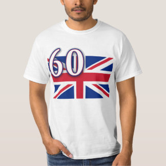 Union Jack with 60 for the Diamond Jubilee T-Shirt